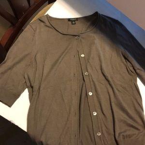 Ann Taylor quarter sleeve cardigan size M